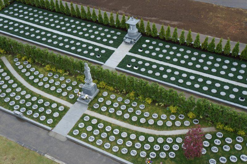 安國寺樹木葬カプセル墓地増設オープン